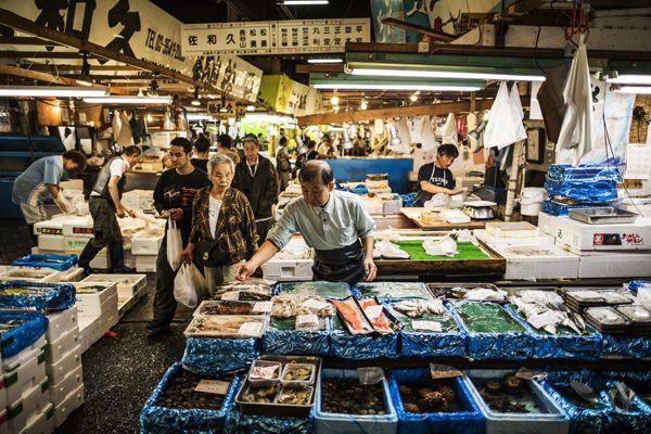 Mercado de pescado de Tokio