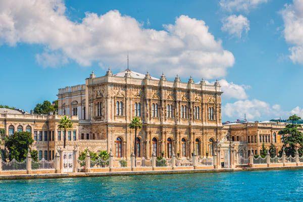 Palacio Dolmabahce en Estambul