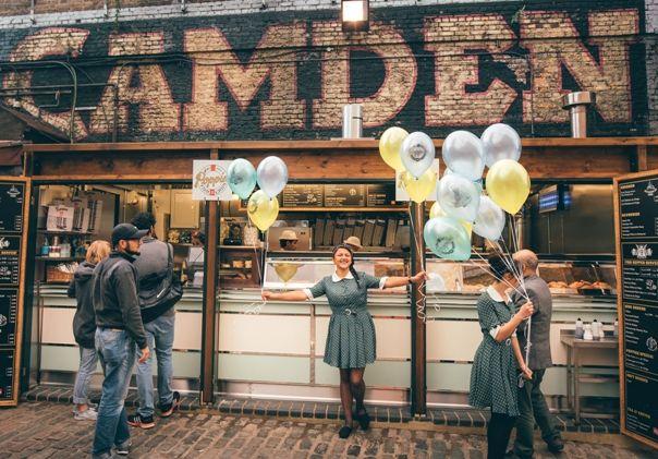 Mercadillo de Camden en Londres