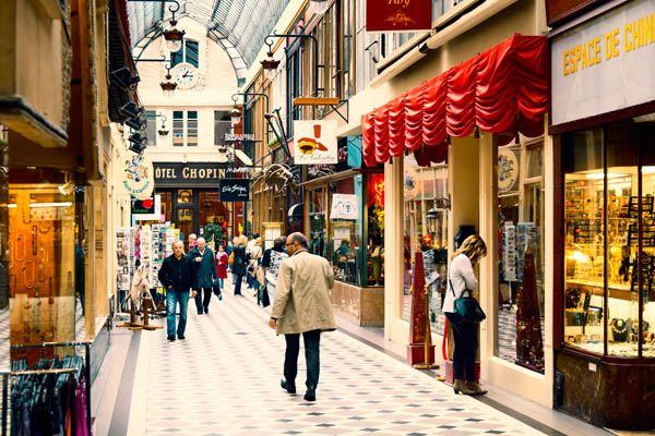 Passage Jouffroy en París