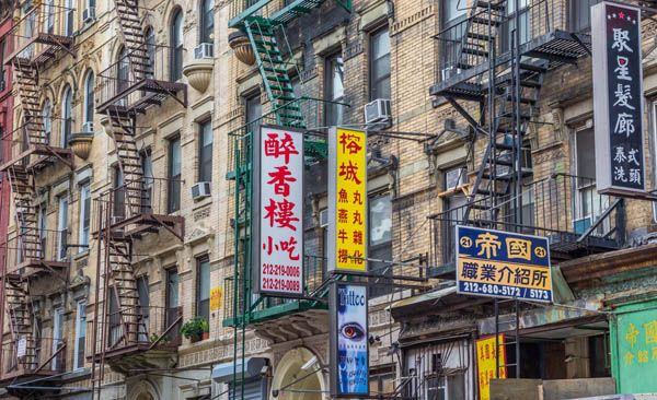 Chinatown en Nueva York