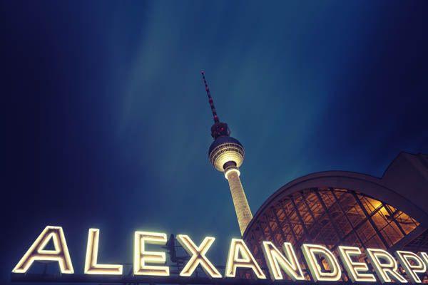 Alexander Platz en Berlín