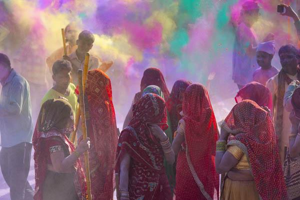 Festival Holi en India, dónde viajar en marzo