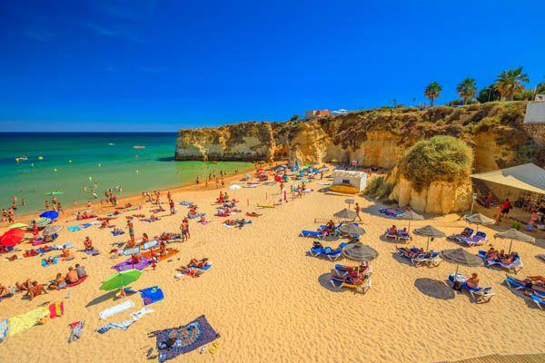 Playa Doña Ana en Portugal