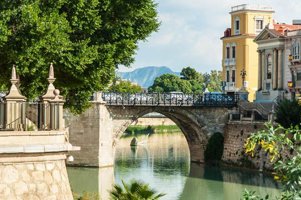 Puente viejo de Murcia