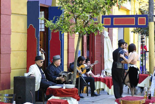 Tango en Boca, Buenos Aires