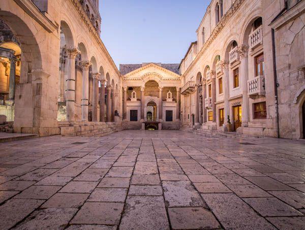 Templo de Diocleciano en Split