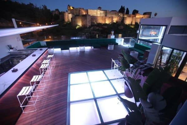 La Terraza de la Alcazaba en Málaga