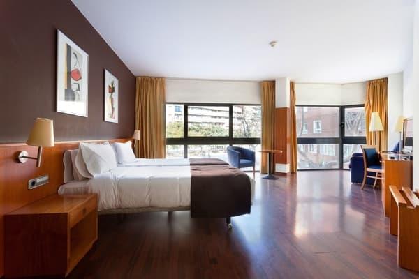 Hotel Viladomat by Silken, donde dormir en Barcelona