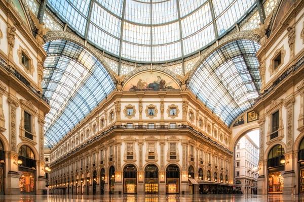 Galleria Vittorio Emanuelle II, Milán