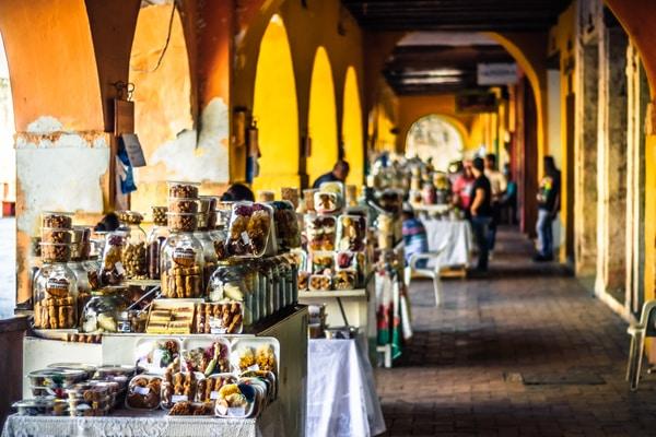 Plaza de los Coches Cartagena de Indias