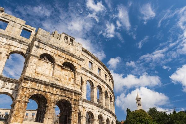 Anfiteatro Romano, Pula