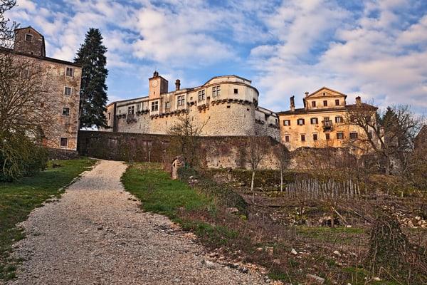 Castillo medieval, Pazin