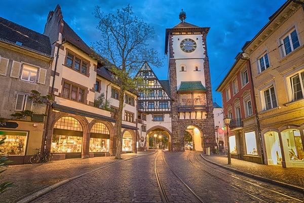 Schwabentor, puerta antigua de la ciudad