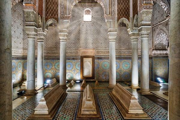 Tumbas Saadíes en Marrakech
