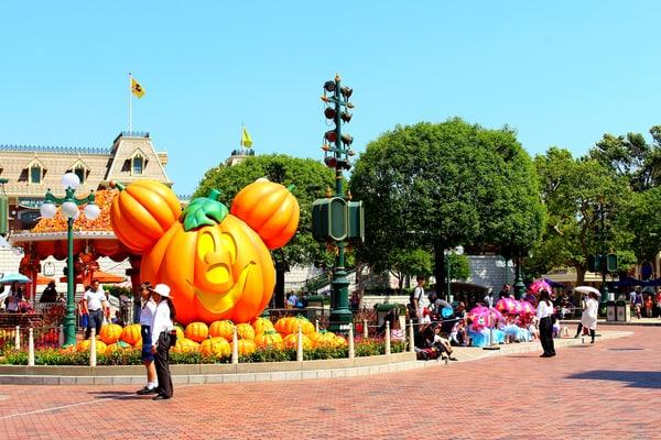 Disney Hong Kong en Halloween