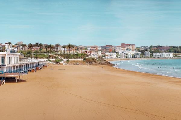 Playa del Sardinero, Santander