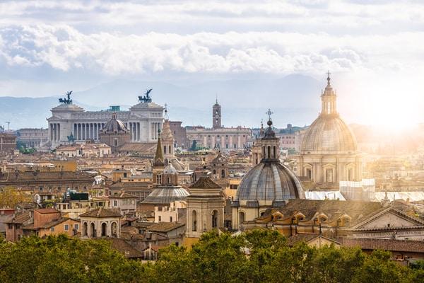 Panorámica Roma