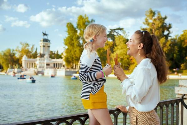 Viajar con niños en invierno a Madrid