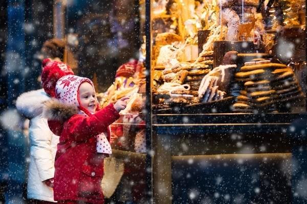 Viajar con niños en invierno