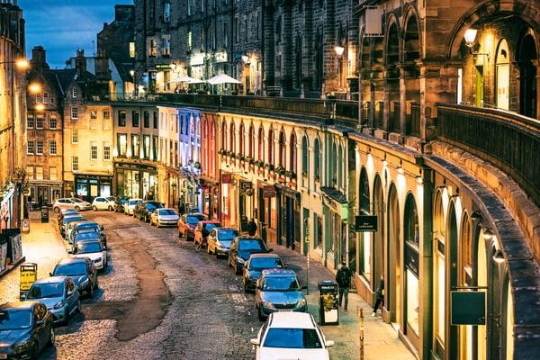 Victoria Street Edimburgo