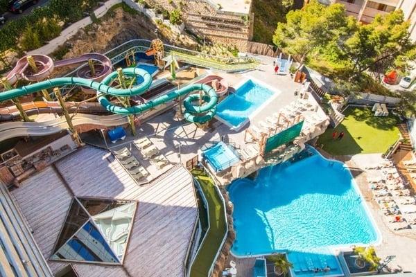 Magic Aqua Rock Gardens- Hoteles con toboganes en Benidorm