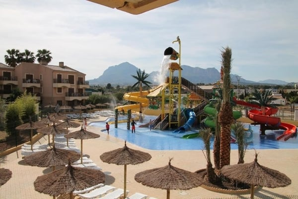 Albir Garden- Hoteles con toboganes en Benidorm