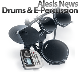 Namm 2011: Alesis News Drums & E-Percussion