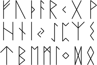 Language of the Norse, Older Futhark
