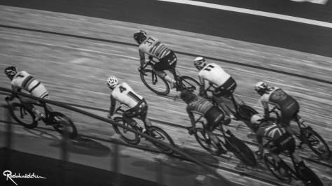 Six Day Berlin cyclists