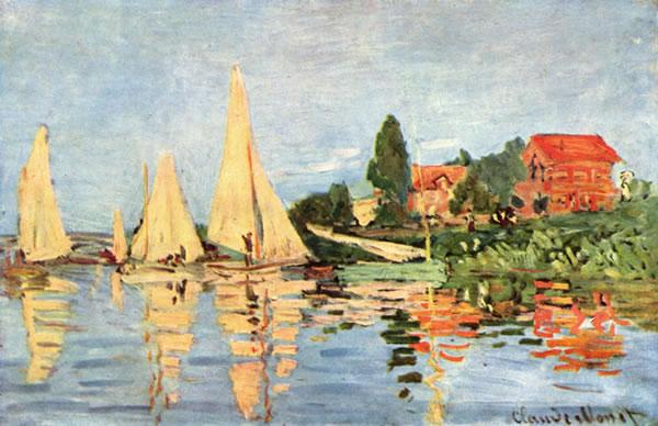 Monet. Regata en Argenteuil (1872)