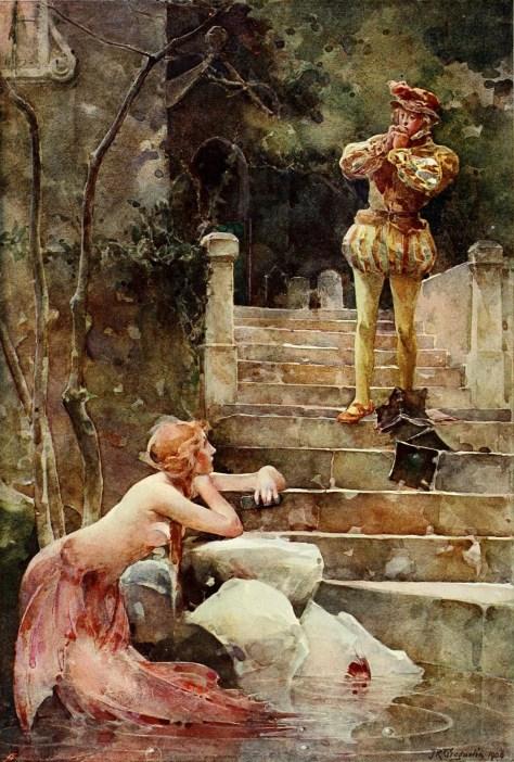 The Mermaid of Zennor, by John Reinhard Weguelin (1900)