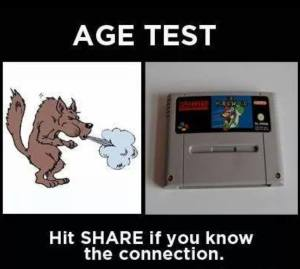 Age test: do you know the connection?