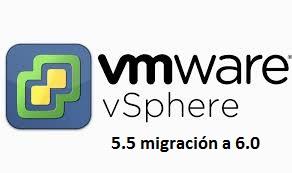 Logo VMware vSphere migrar