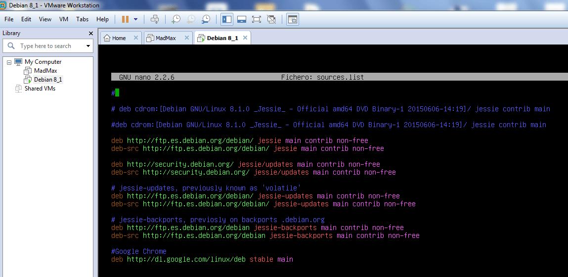 Instalación VMware Tools en Linux Debian 8 1 – Ragasys Sistemas