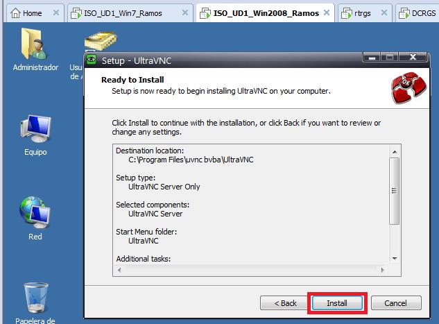 Instalación y configuración de VNC (Virtual Network Computing