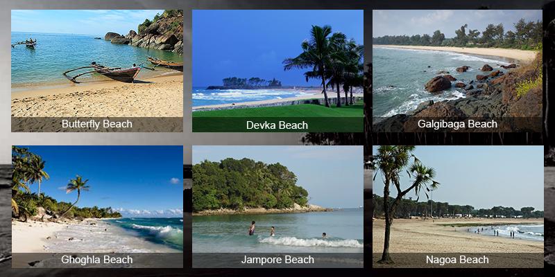 Goa Sandy Beaches