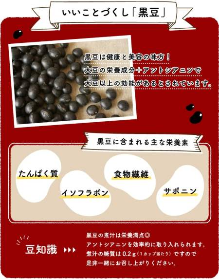 糖質制限 黒豆