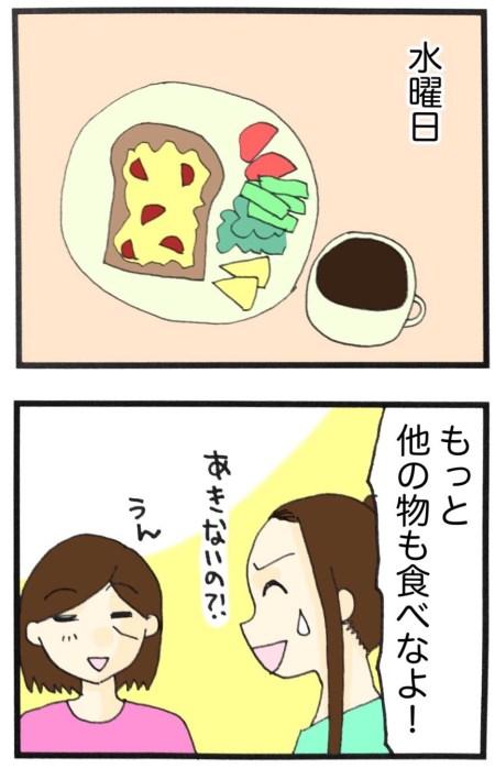ロカボの朝ごはんの漫画