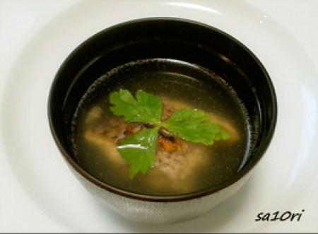 鯛のあら 低糖質スープ