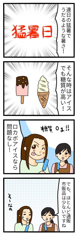 糖質制限 アイス