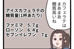 コンビニ カフェラテ 糖質 糖質制限