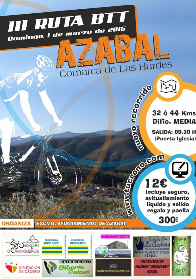 Ruta BTT Azabal