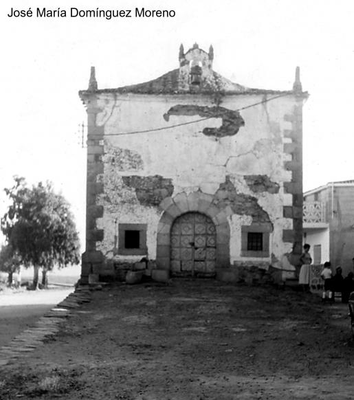 Imagen antigua de Santa Marina de Ahigal