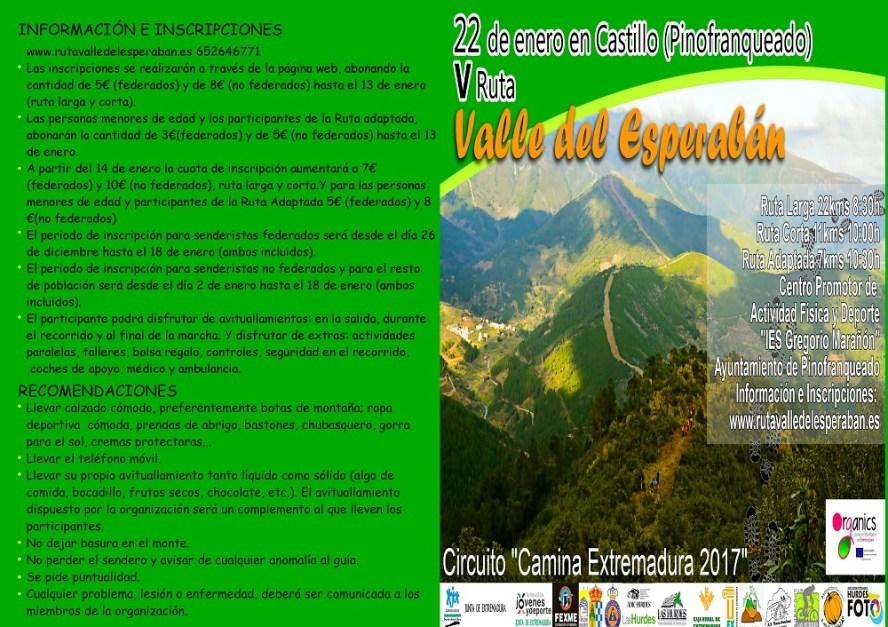 V ruta Valle del Esperabán