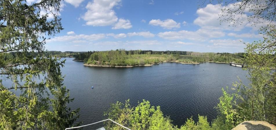 Blick über den Ottensteiner Stausee