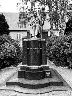 Denkmal von Søren Aabye Kierkegaard