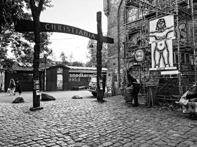 Eingang zu Christiania