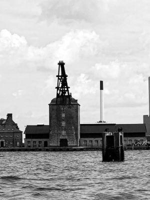 Mastekranen - Kran im Hafen von
