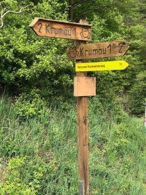 Wanderwege Krumau